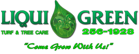 Liqui Green Turf & Tree Care Mobile Logo