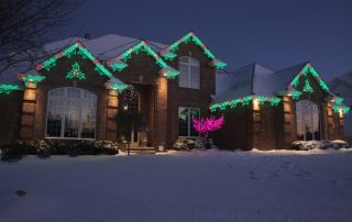 holiday lighting services in clifton co