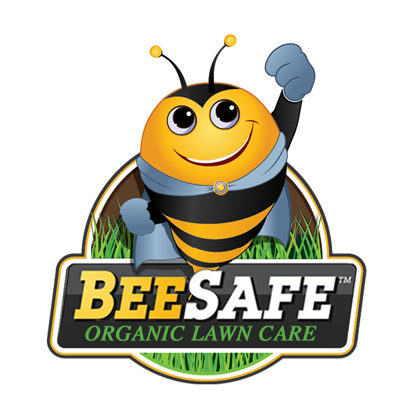 Bee Safe Organic lawn care logo
