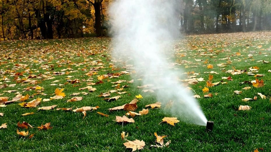 Why winterize your sprinkler system?